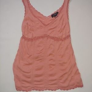 Express lace top sleeveless size M